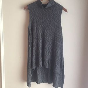 Anthropologie Left of Center Oversize Tunic Top